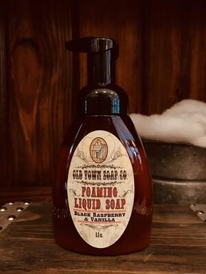 Black Raspberry & Vanilla -Pump Liquid Soap