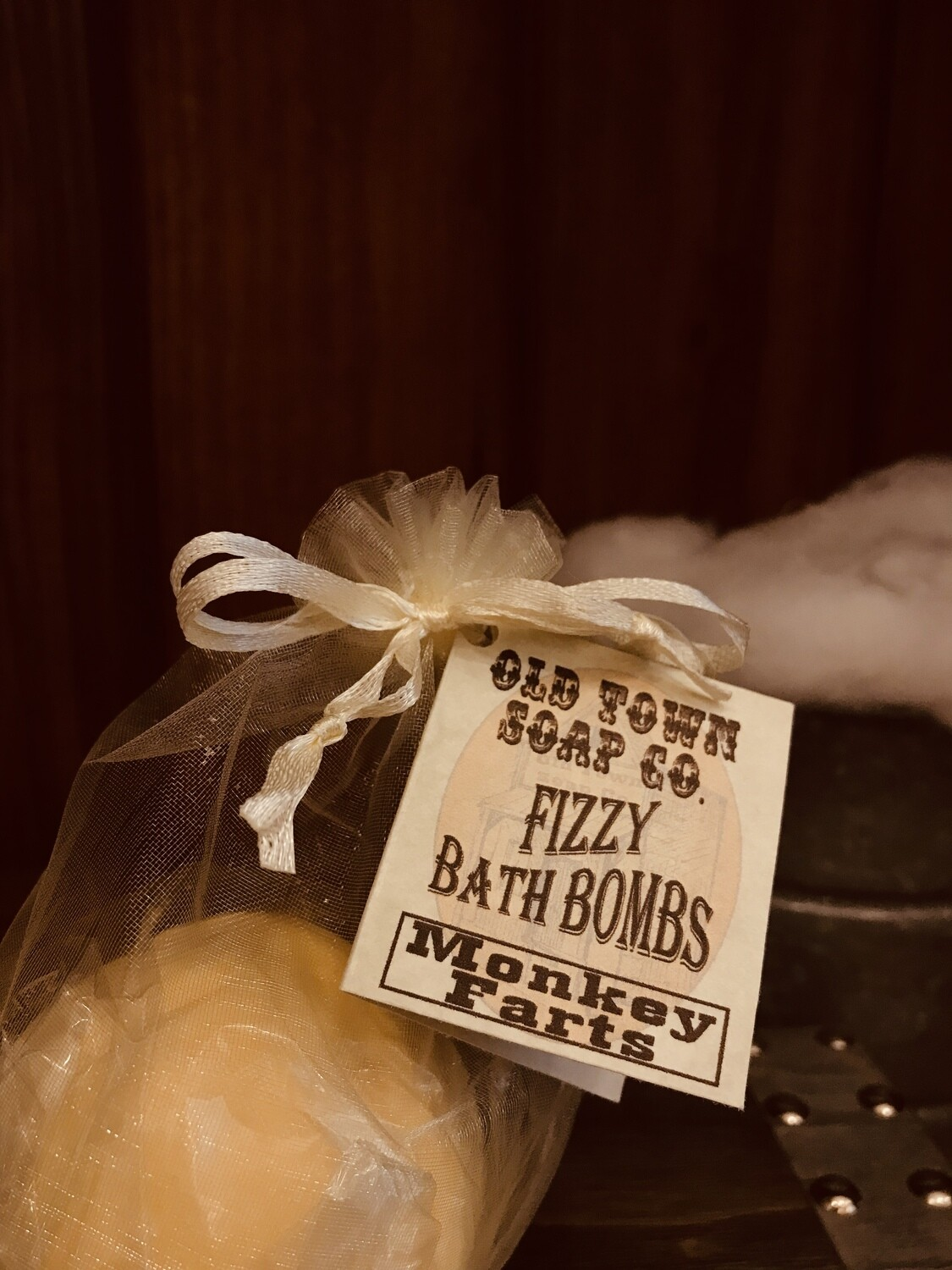 Monkey Farts Bath Bomb -Large