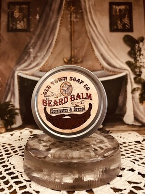 Eucalyptus & Orange -Beard Balm