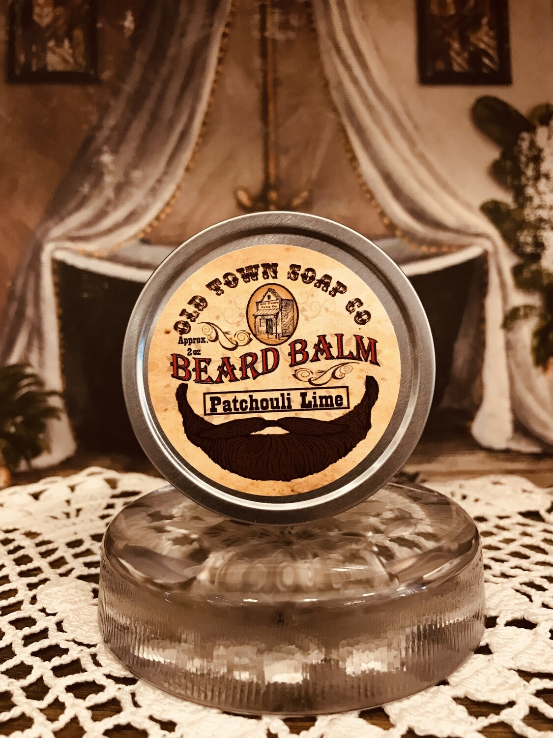 Patchouli & Lime -Beard Balm