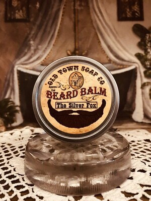 The Silver Fox -Beard Balm
