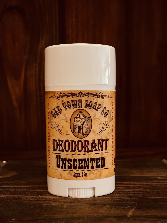 Unscented -Deodorants