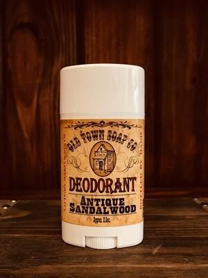 Antique Sandalwood -Deodorants