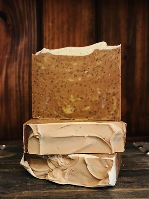 Coffee w/coffee grounds -Bar Soap