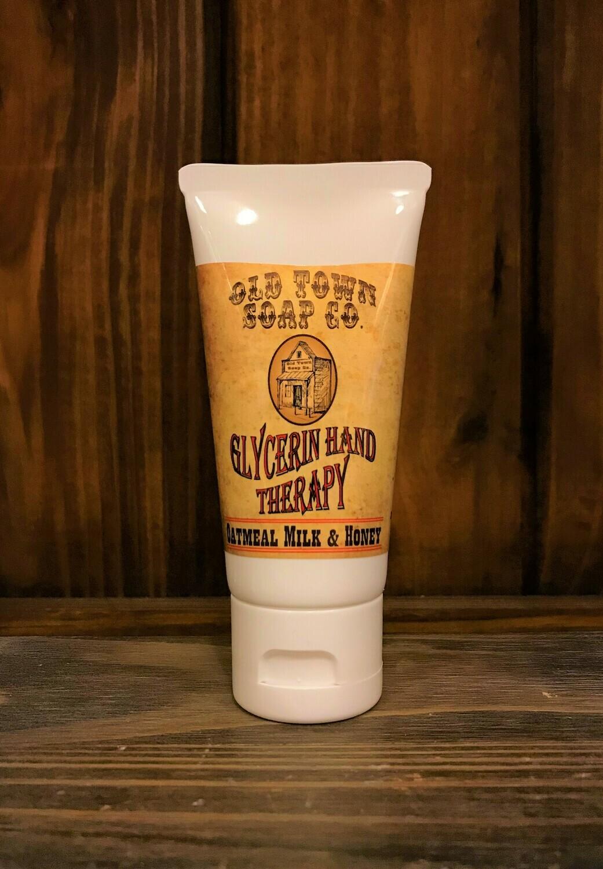 Oatmeal Milk & Honey -2 oz Tube Hand Therapy