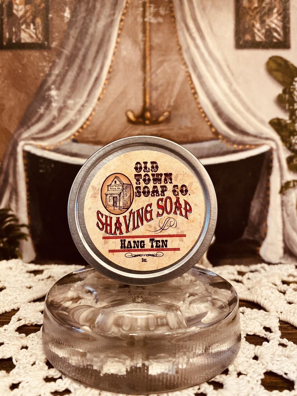 Hang Ten -Shave Soap Tin