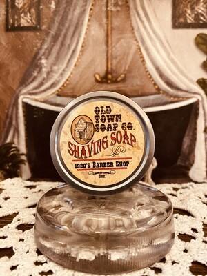 1920's Barber Shop -Shave Soap Tin