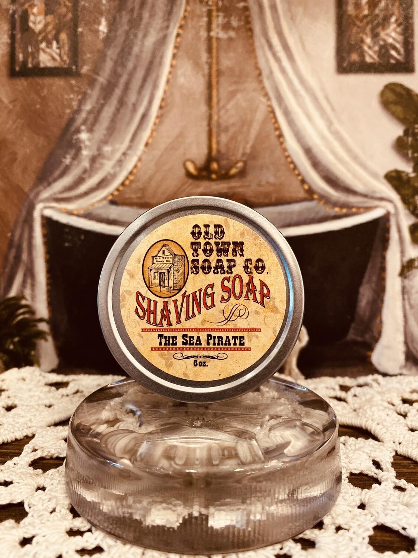 The Sea Pirate -Shave Soap Tin