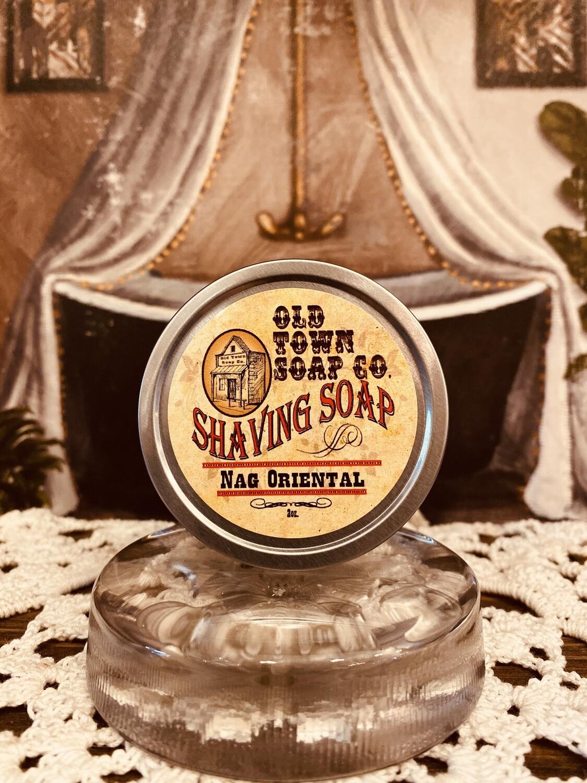 Nag Oriental -Shave Soap Tin