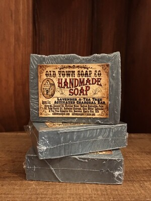 Activated Charcoal -Bar Soap