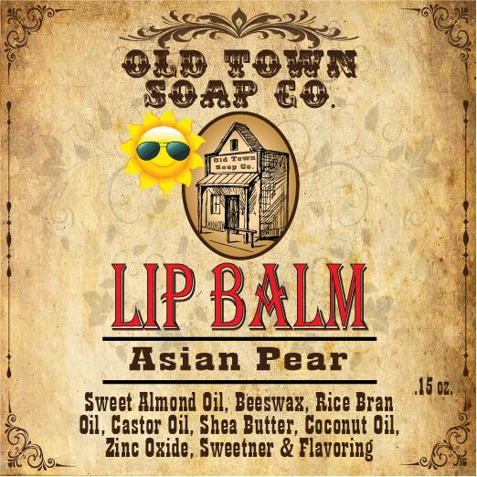 Asian Pears -Lip Balm