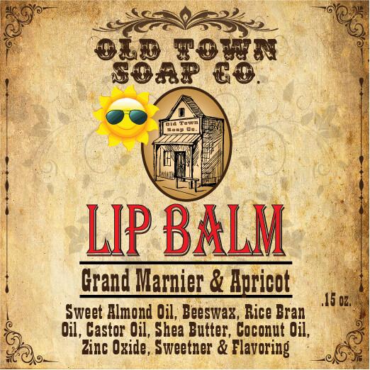 Grand Marnier & Apricot -Lip Balm