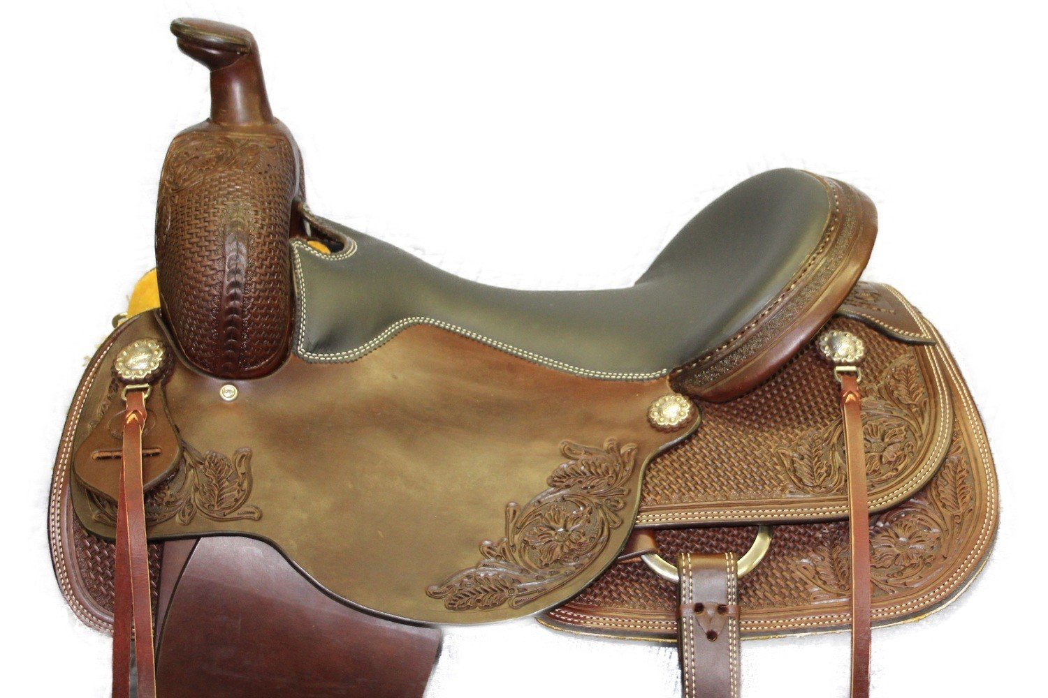 "17"" 444 Roping Saddle"