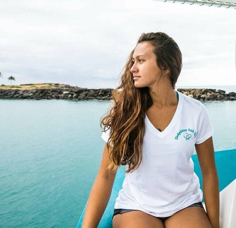 Women's Dolphins and You Logo T-Shirt