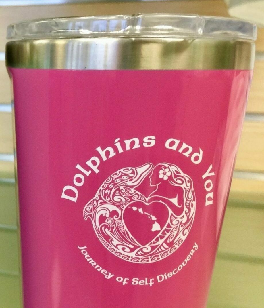 Dolphins and You CORKCICLE Tumbler