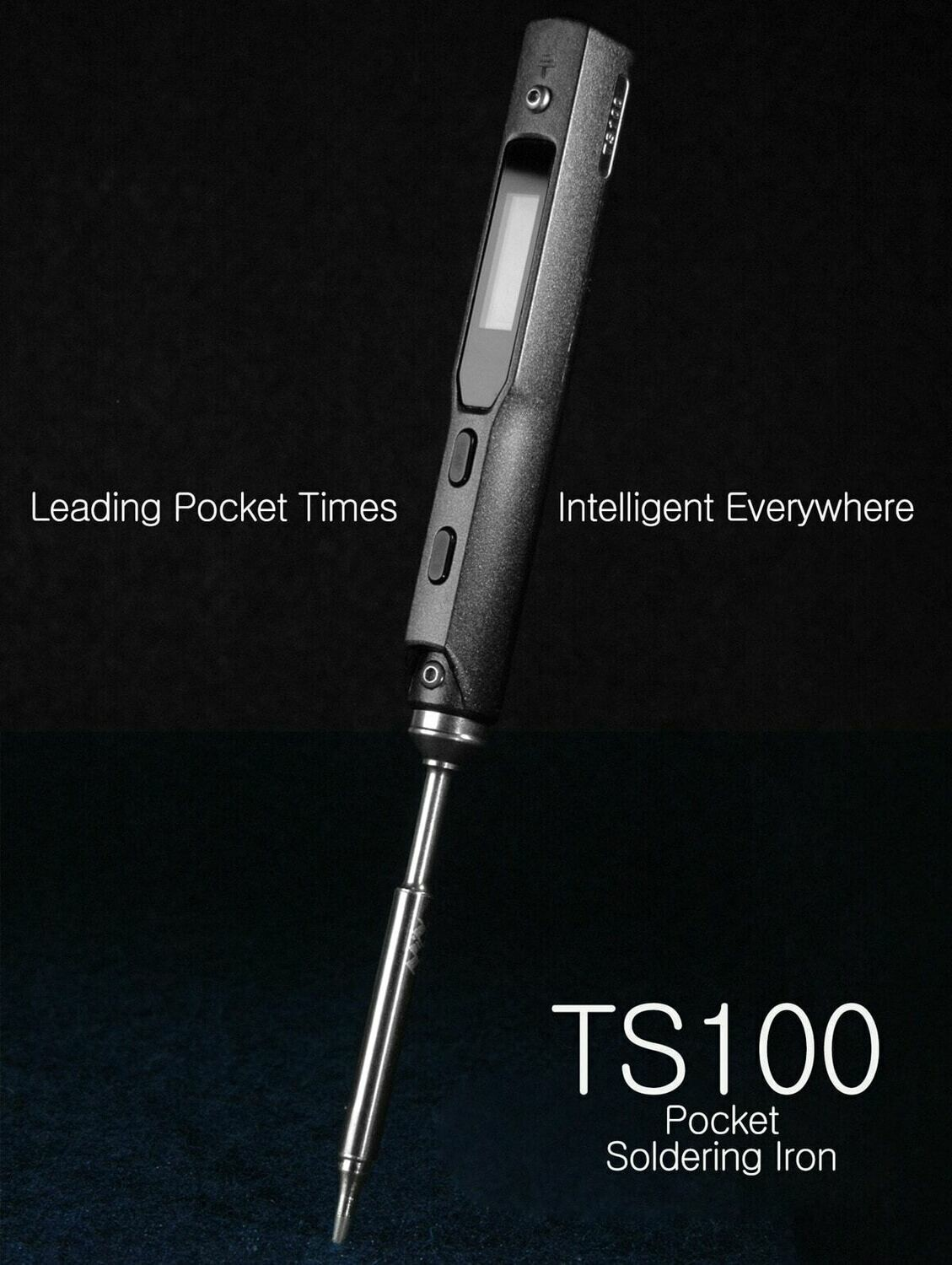 TS100 Portable Soldering Iron with XT60 cable and Case