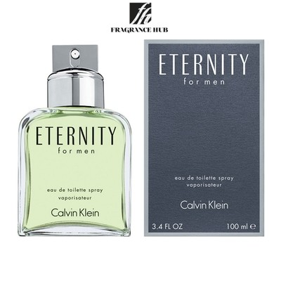 [Original] Calvin Klein cK Eternity EDT Men (100ml)