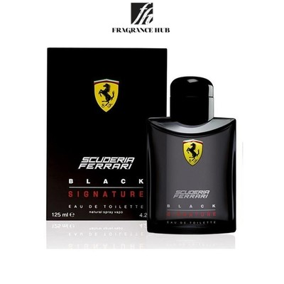 [Original] Ferrari Scuderia Ferrari Black EDT Men 125ml
