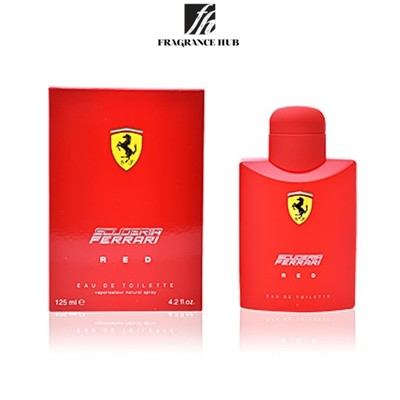[Original] Ferrari Red Men EDT (125ml)