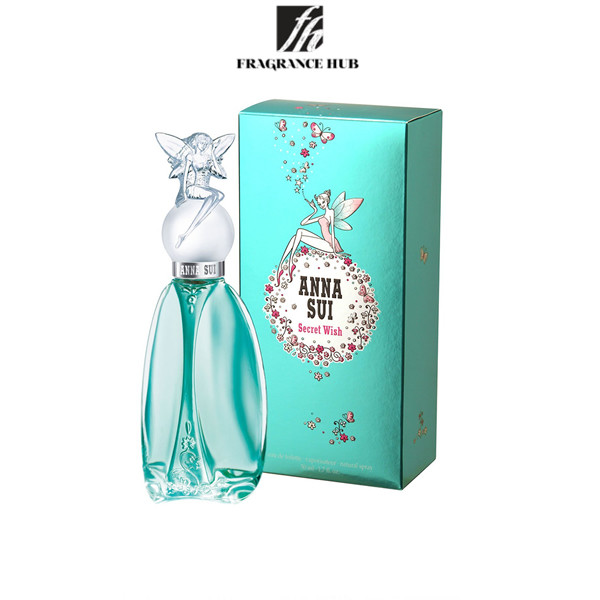 [Original] Anna Sui Secret Wish EDT Lady 75ml