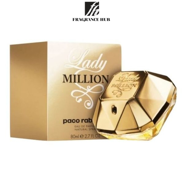 [Original] Paco Rabanne 1 Million For Her EDP Lady 80ml