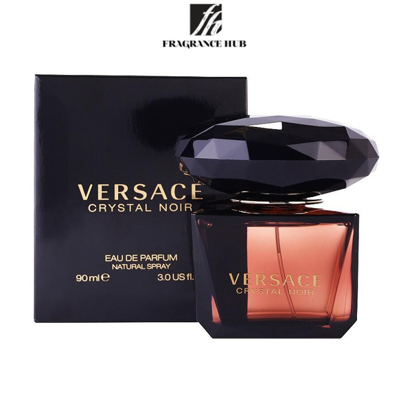 [Original] Versace Crystal Noir EDT Lady 90ml