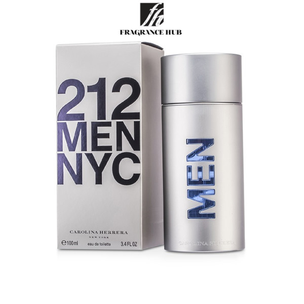 [Original] Carolina Herrera 212 NYC EDT Men 100ml