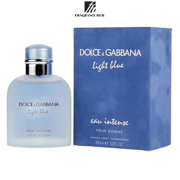 [Original] DOLCE AND GABBANA Light blue eau Intense Pour Homme EDP Men 100ml