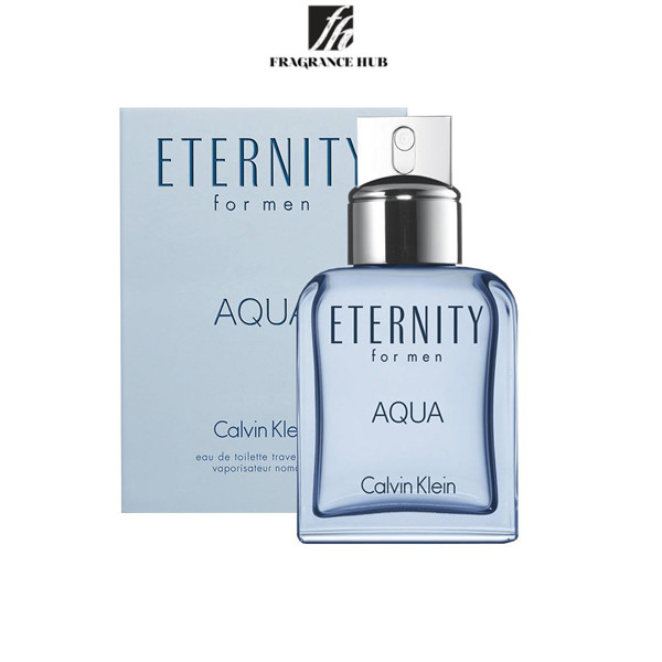 [Original] Calvin Klein cK Eternity AQUA EDT Men 200ml