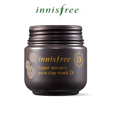 [Innisfree] Super Volcanic Pore Clay Mask 2X (Expiry in 2021/22)