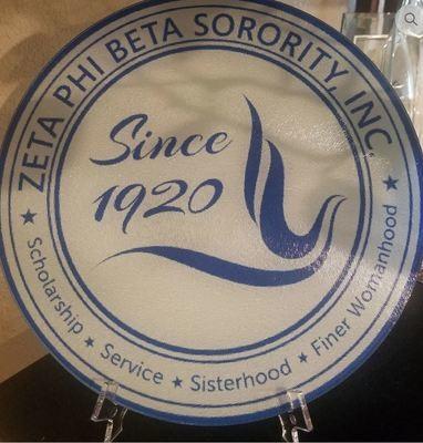 Zeta Round Glass Seal