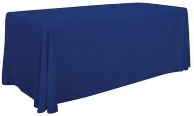 Customized TABLE COVER THROW - 6' or 8' LOOSE (FULL DIGITAL PRINT)