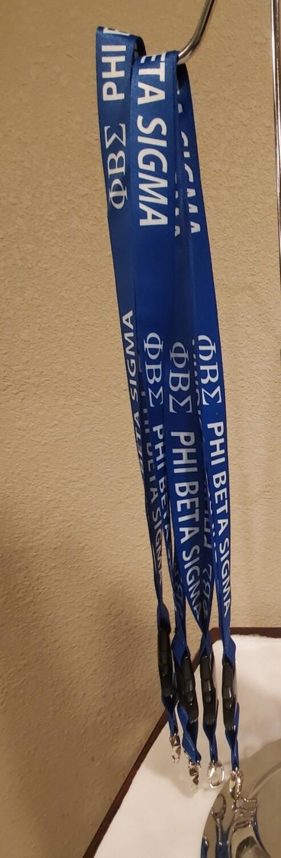 Phi Beta Sigma Lanyard