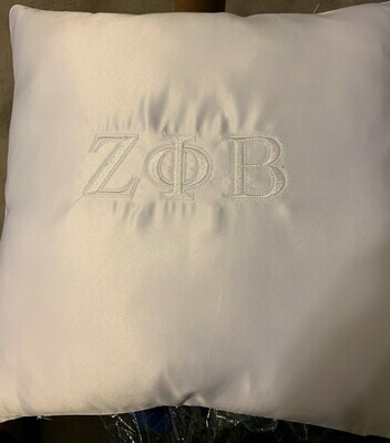 Zeta Phi Beta Induction Ceremony Kneeling Pillow