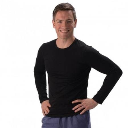 Bamboo Long Sleeve Fitted Top