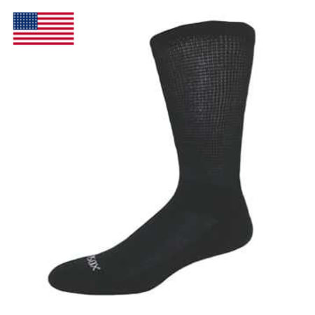 Diabetic Bamboo Crew Socks W/Arch Support