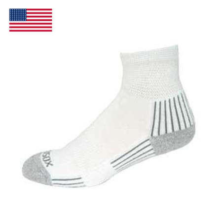 Diabetic Quarter Sock W/Arch Support
