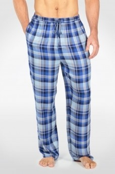 Men's Bamboo Plaid Pajama Pants