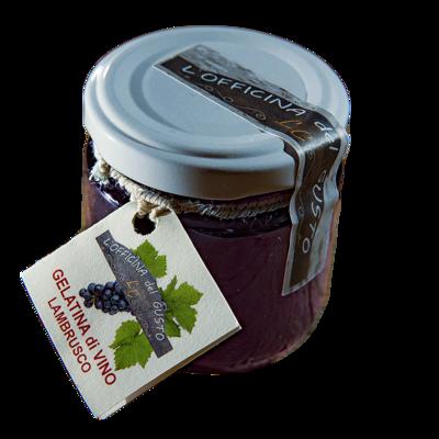 Gelatina di Vino Lambrusco