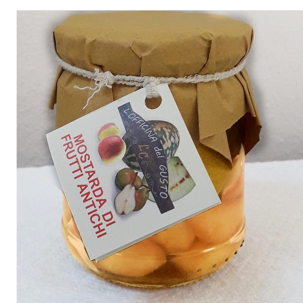 Mostarda di Frutti Antichi (Pere Nobili, Cocomero Bianco, Mele Campanine) 0007
