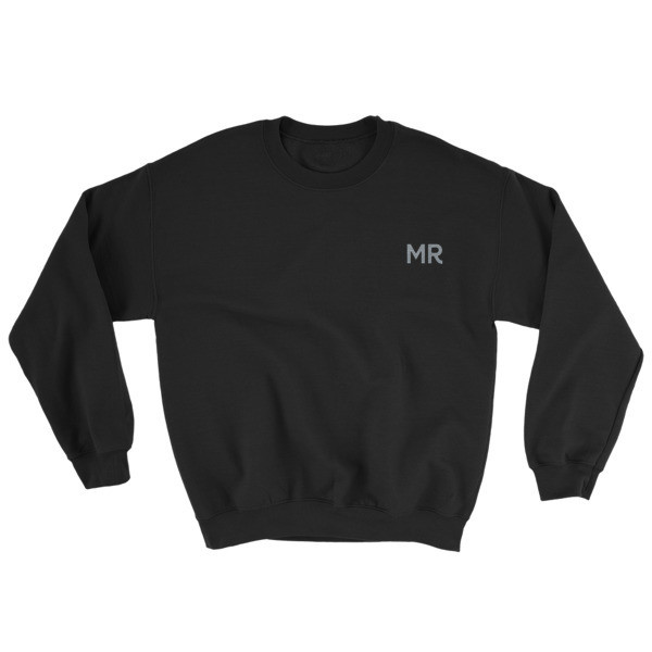 Monsieur MR Embroidered Sweat Top