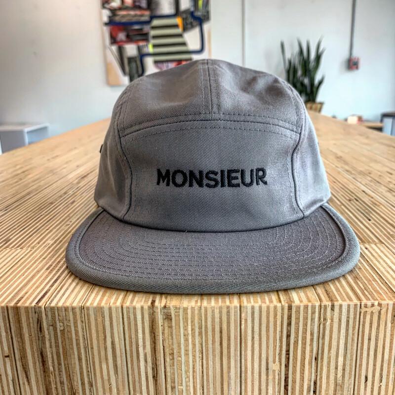 Monsieur Five Panel Cap
