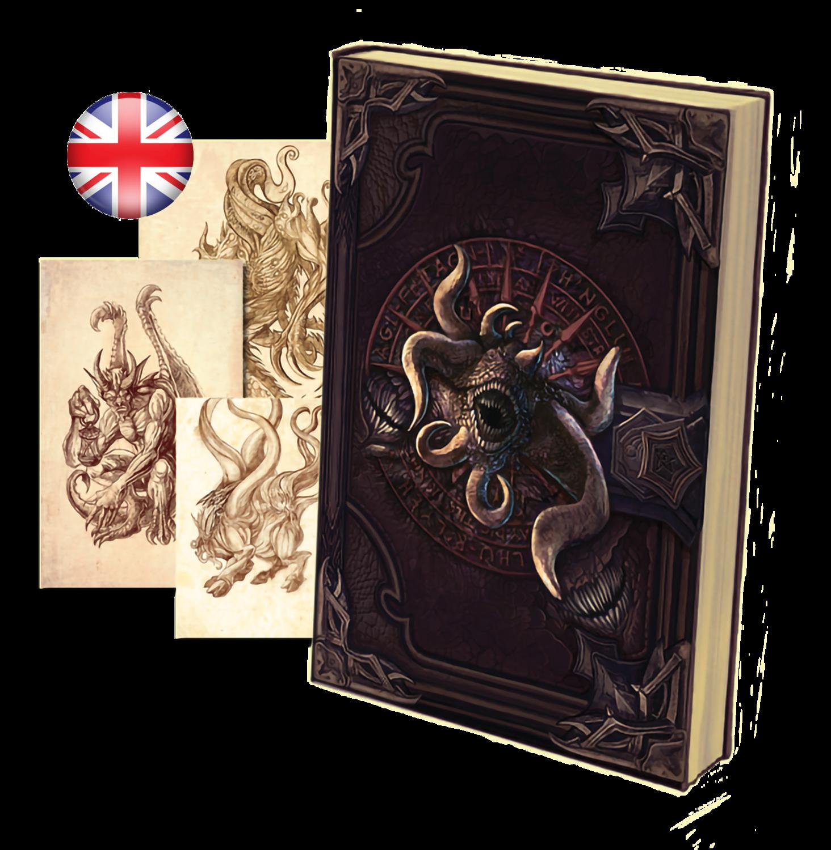 NECRONOMICON -THE VERCETO'S DIARY- PAPERBACK BOOK