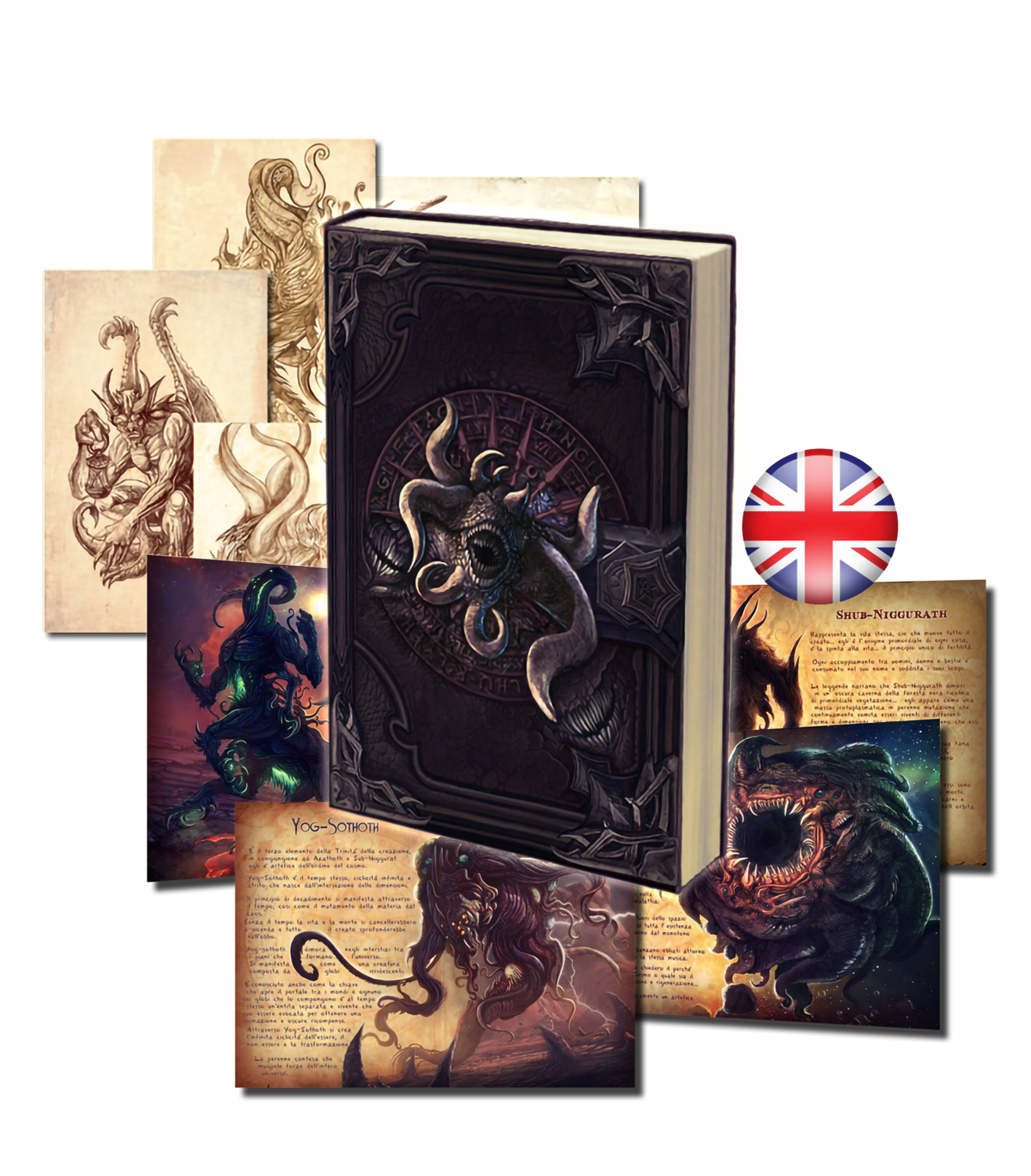 NECRONOMICON -THE VERCETO'S DIARY- HARD COVER