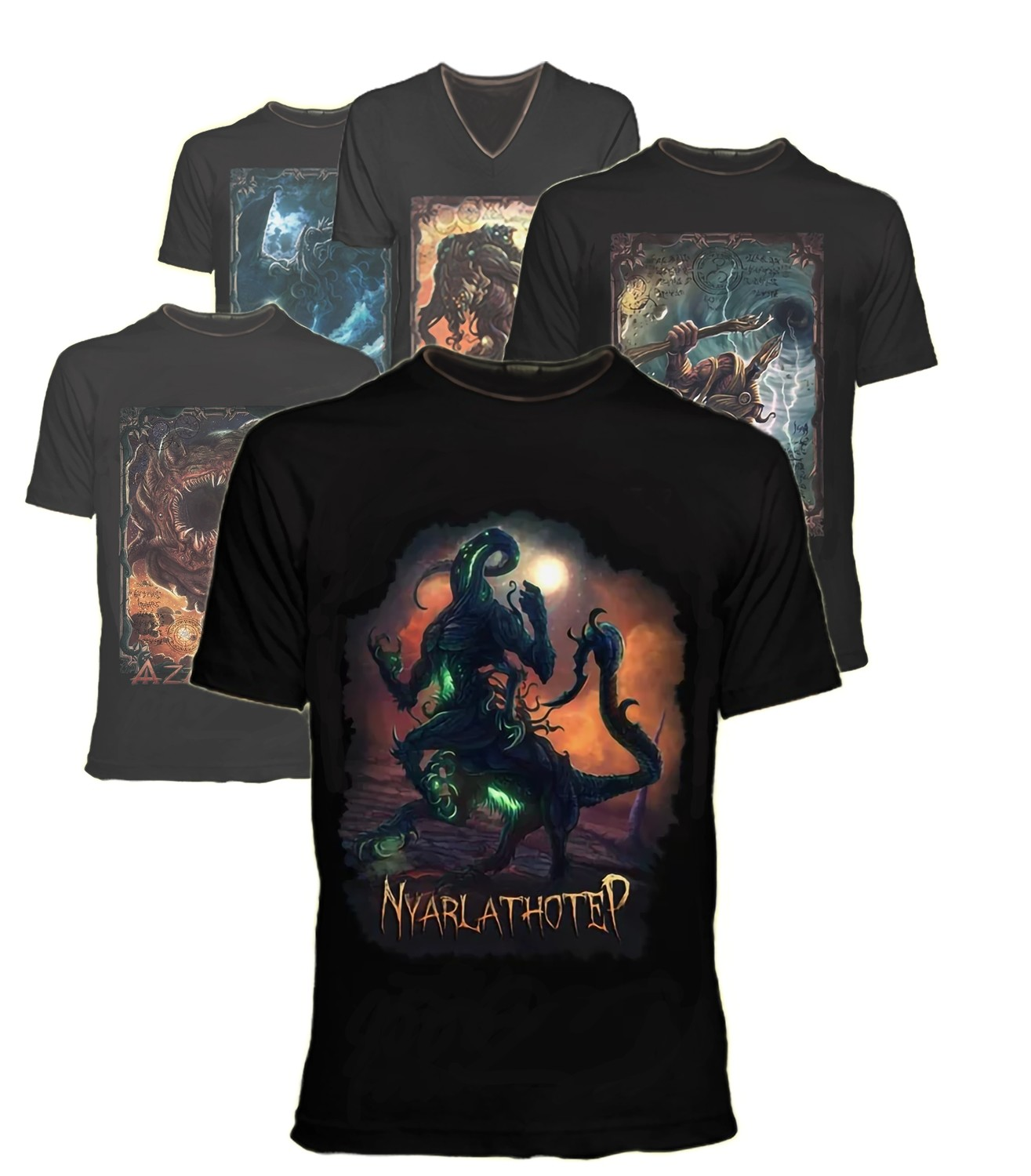 THE GREAT OLD ONES BLACK T-SHIRT