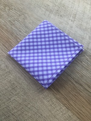 Purple Checked