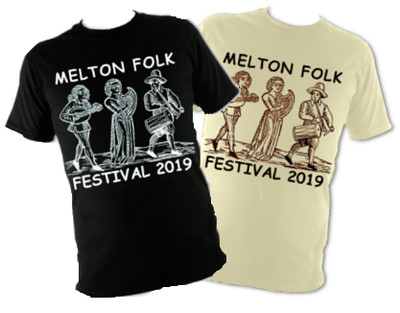 Melton Folk Festival 2019 T-Shirt
