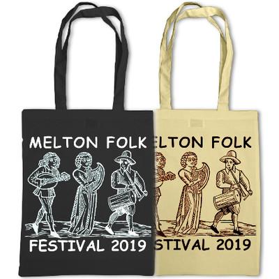 Melton Folk Festival 2019 tote bag