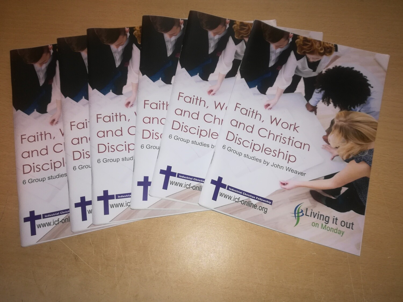Faith, work & Christian Discipleship - 6 x Participant guide