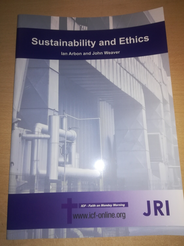 Sustainability & Ethics - Ian Arbon & John Weaver